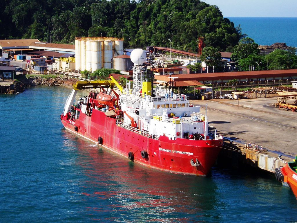 Kemaman Malaysia  city photo : Photographs of offshore support vessels in action in many parts of the ...